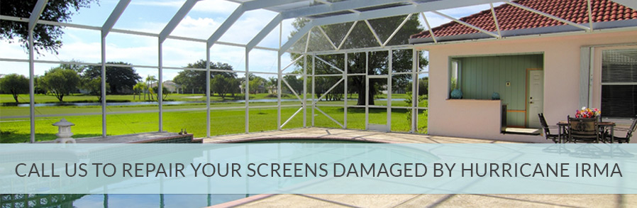 Pool Screen Repair Hollywood FL